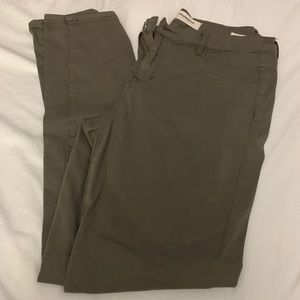PacSun Olive Jeggings